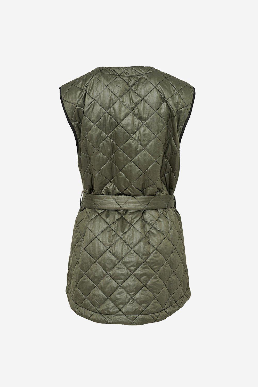 Noella Sava Quilt jakke, army/black, x-small/small