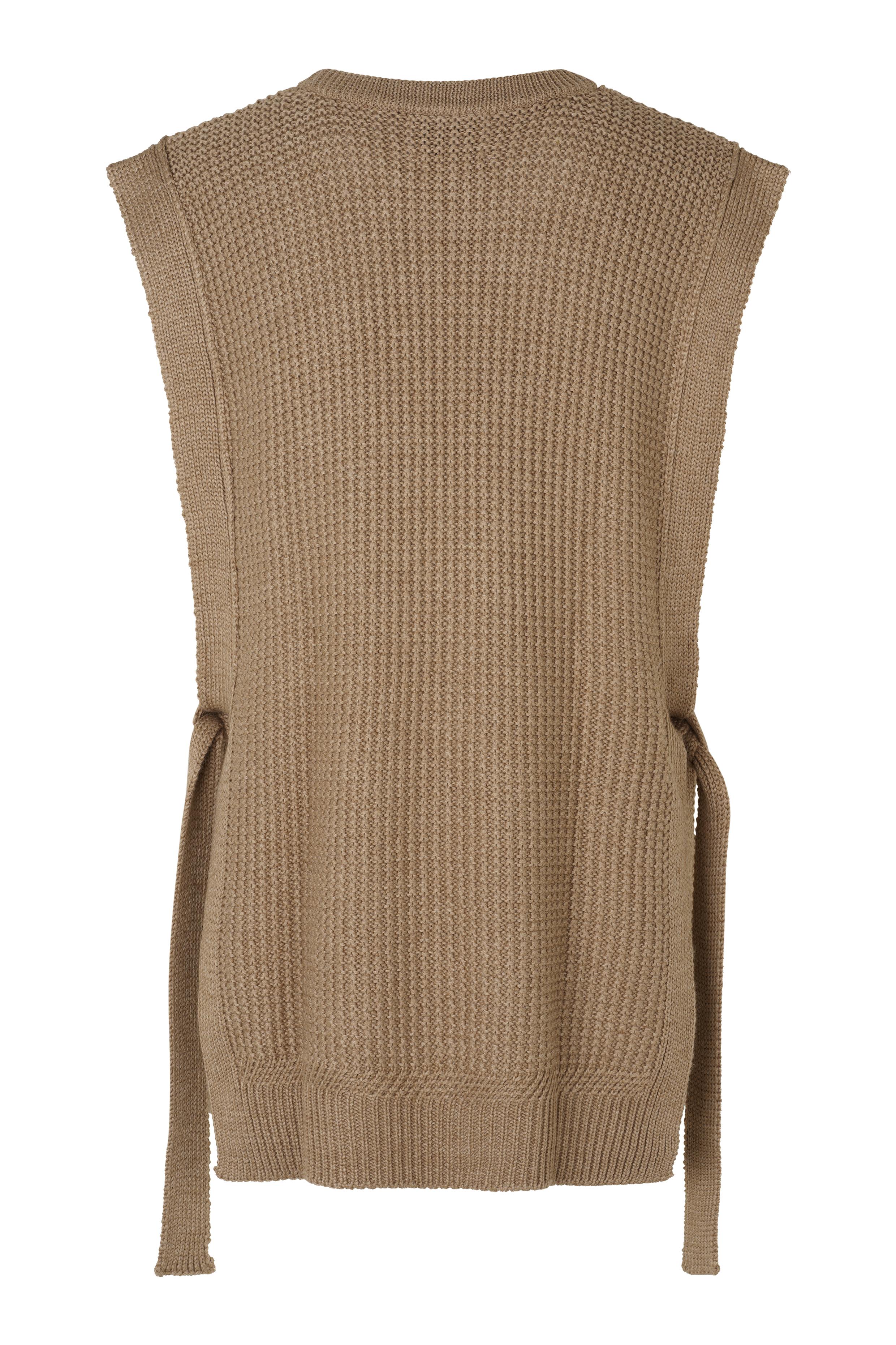 Second Female Vest, sepia tint, medium