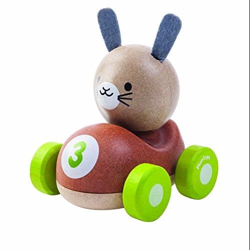 Plantoys racerbil, kanin