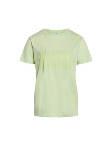 Mads Nørgaard Trenda t-shirt, pastel green, x-small