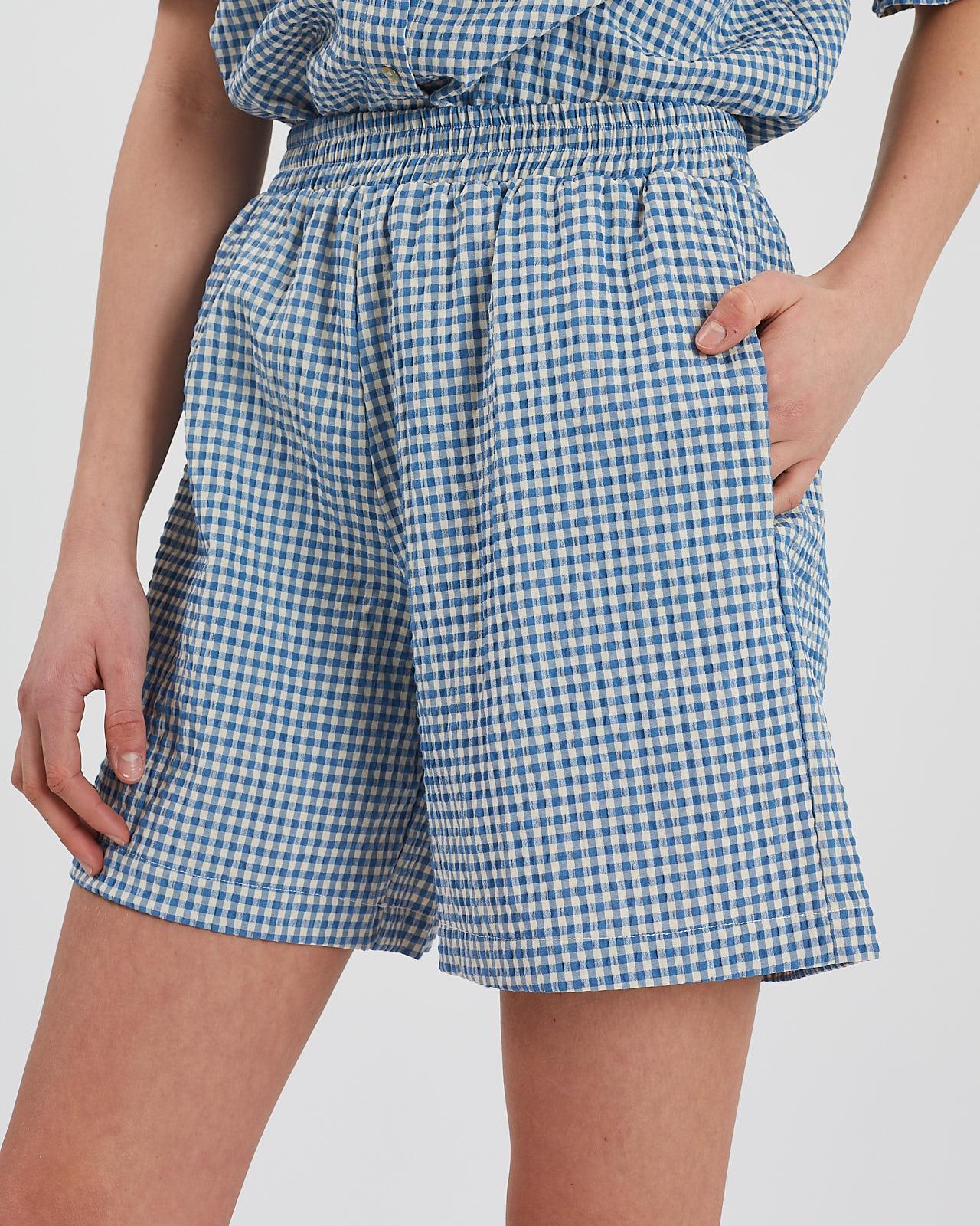 Moves Pynna shorts, blue bell, 34