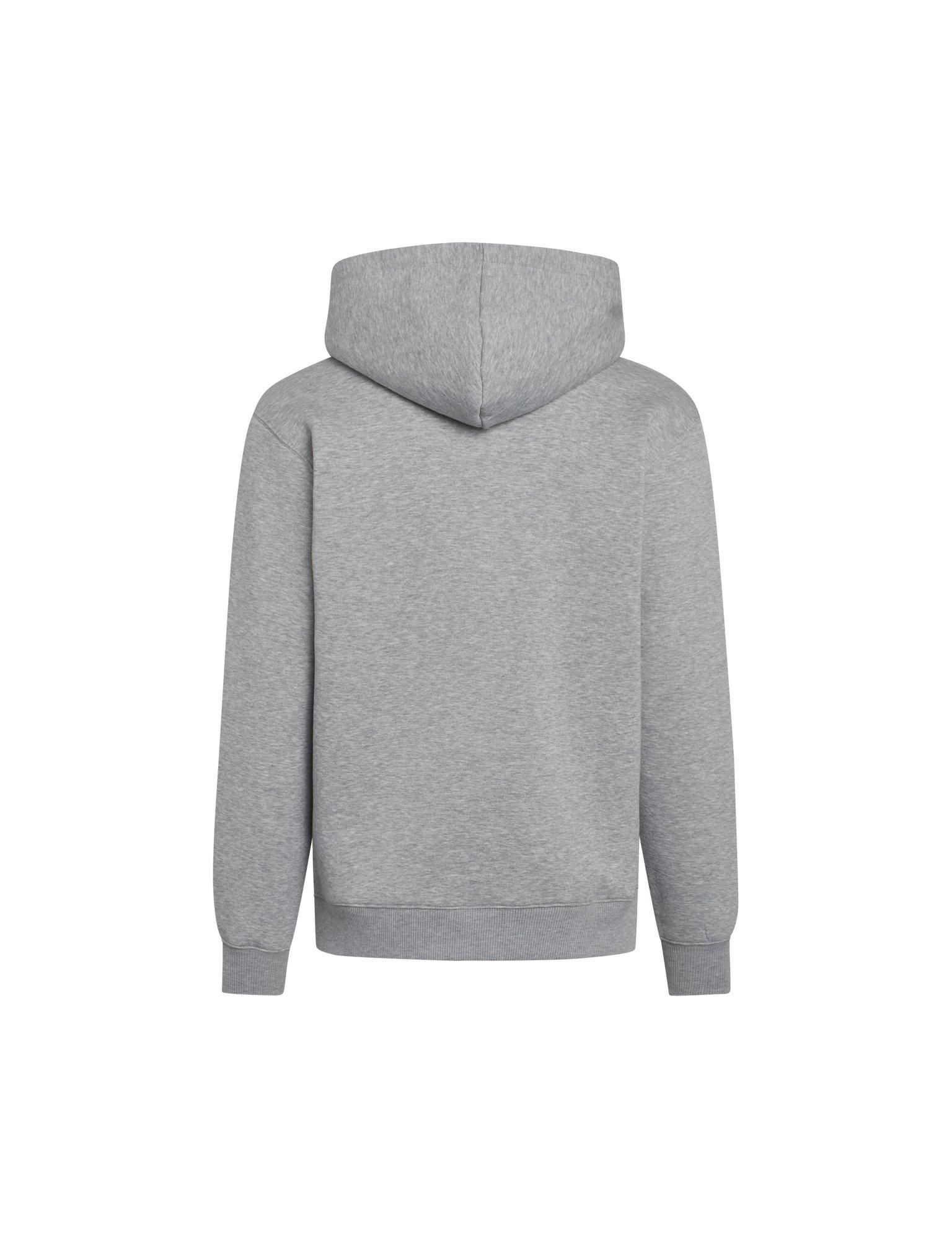 Mads Nørgaard New Standard badge hoodie, grey melange, x-large