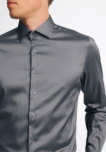 Eterna Skjorte, Grå, 40
