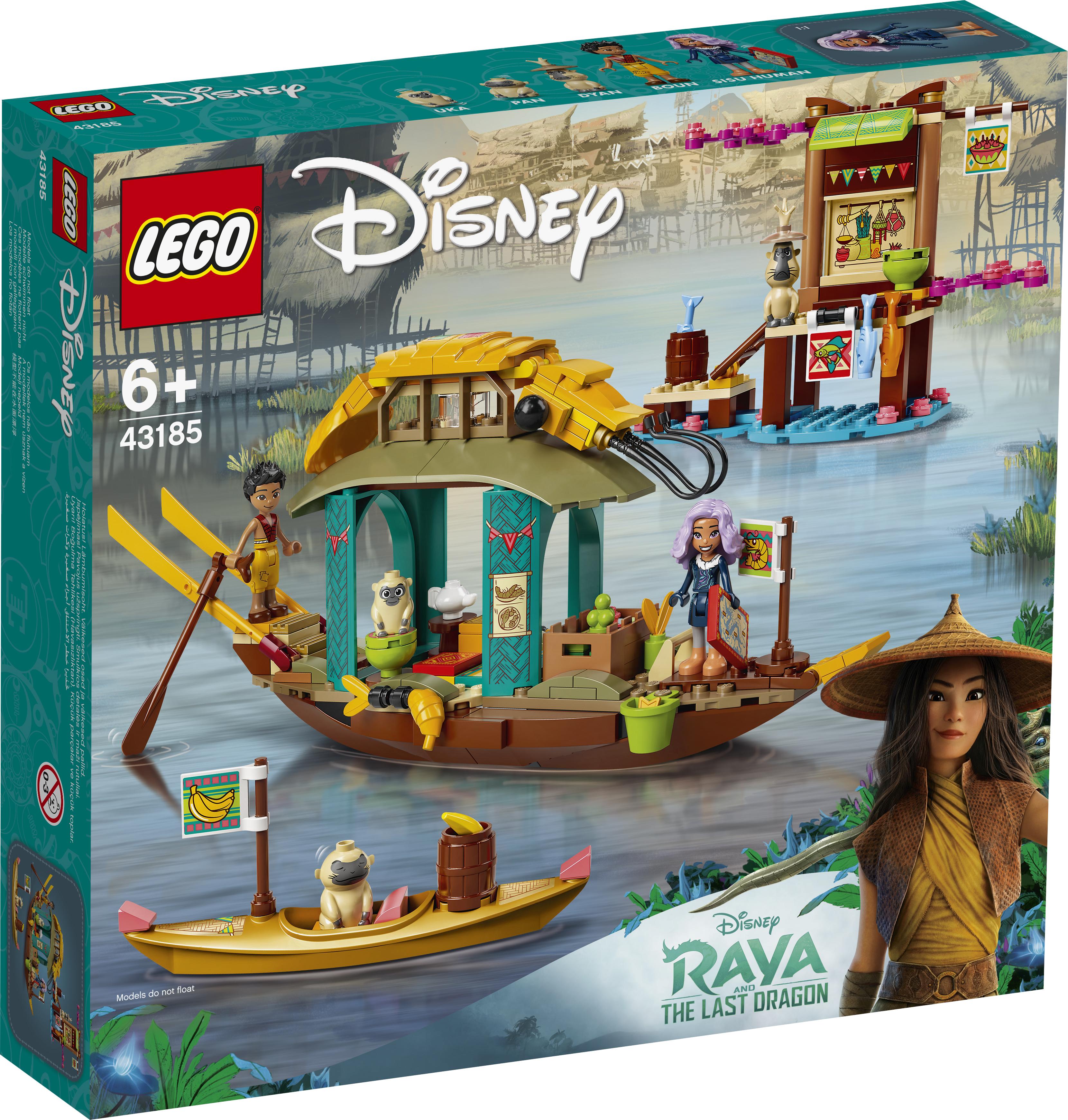 LEGO Disney Bouns båd - 43185