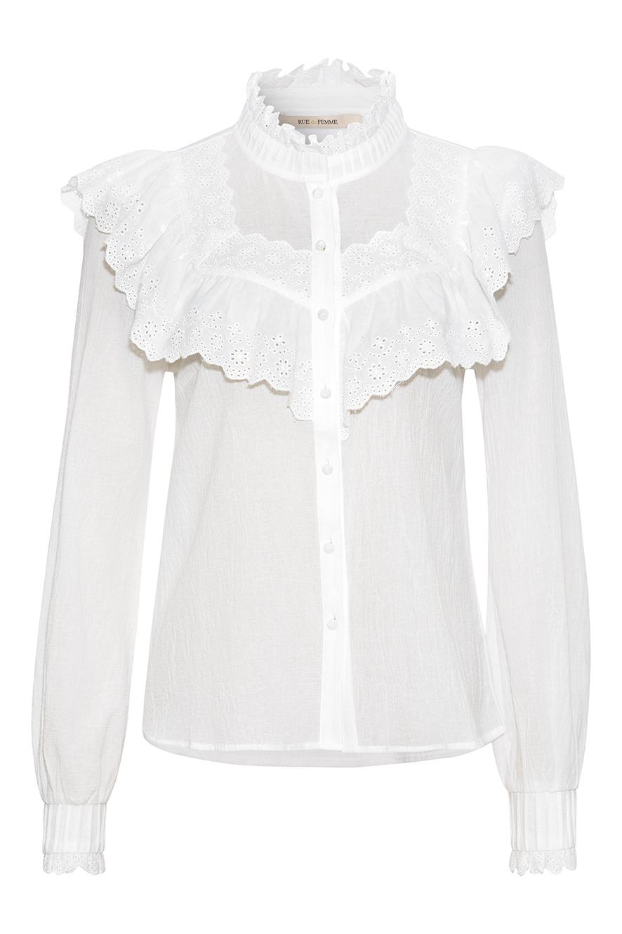Rue de Femme Rimini skjorte, offwhite, small