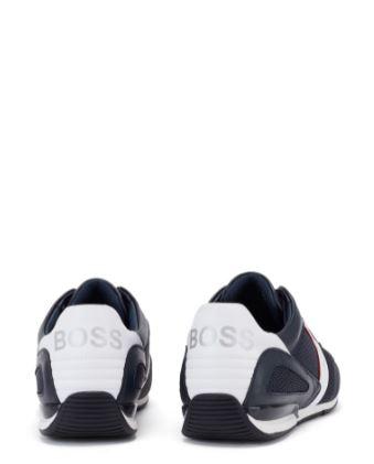 Boss Hybrid trainers, Dark Blue, 42