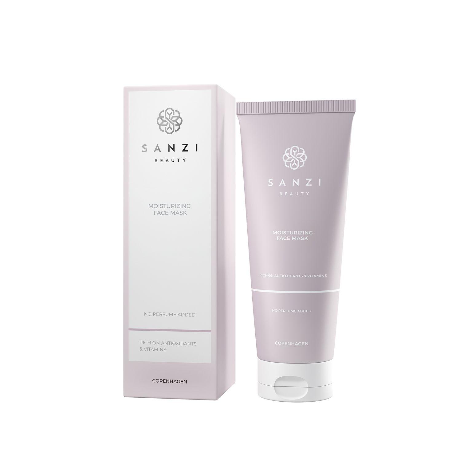 Sanzi Beauty Moisturizing Face Mask, 100 ml