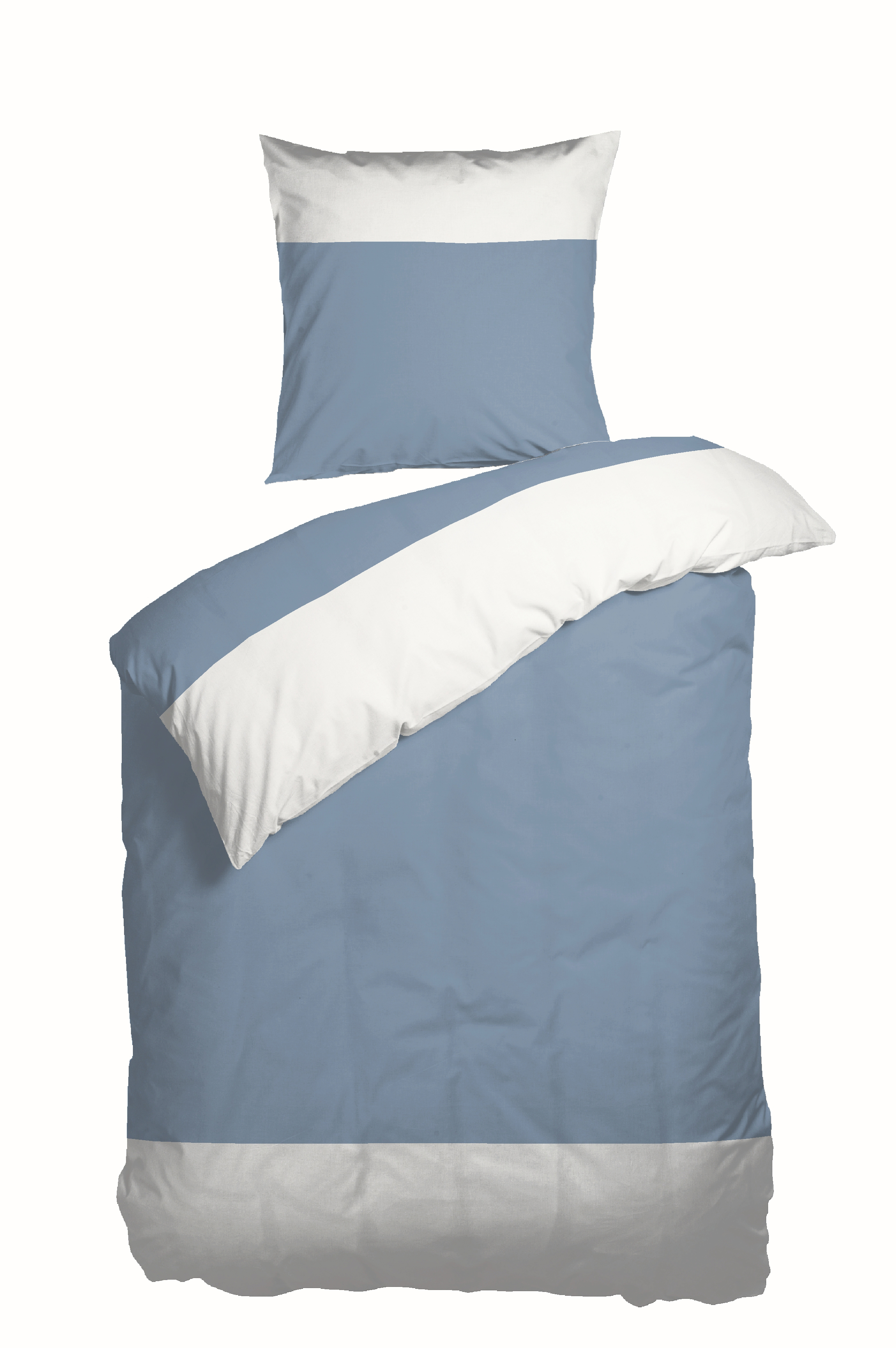 Nordisk Tekstil Solid sengelinned, blå