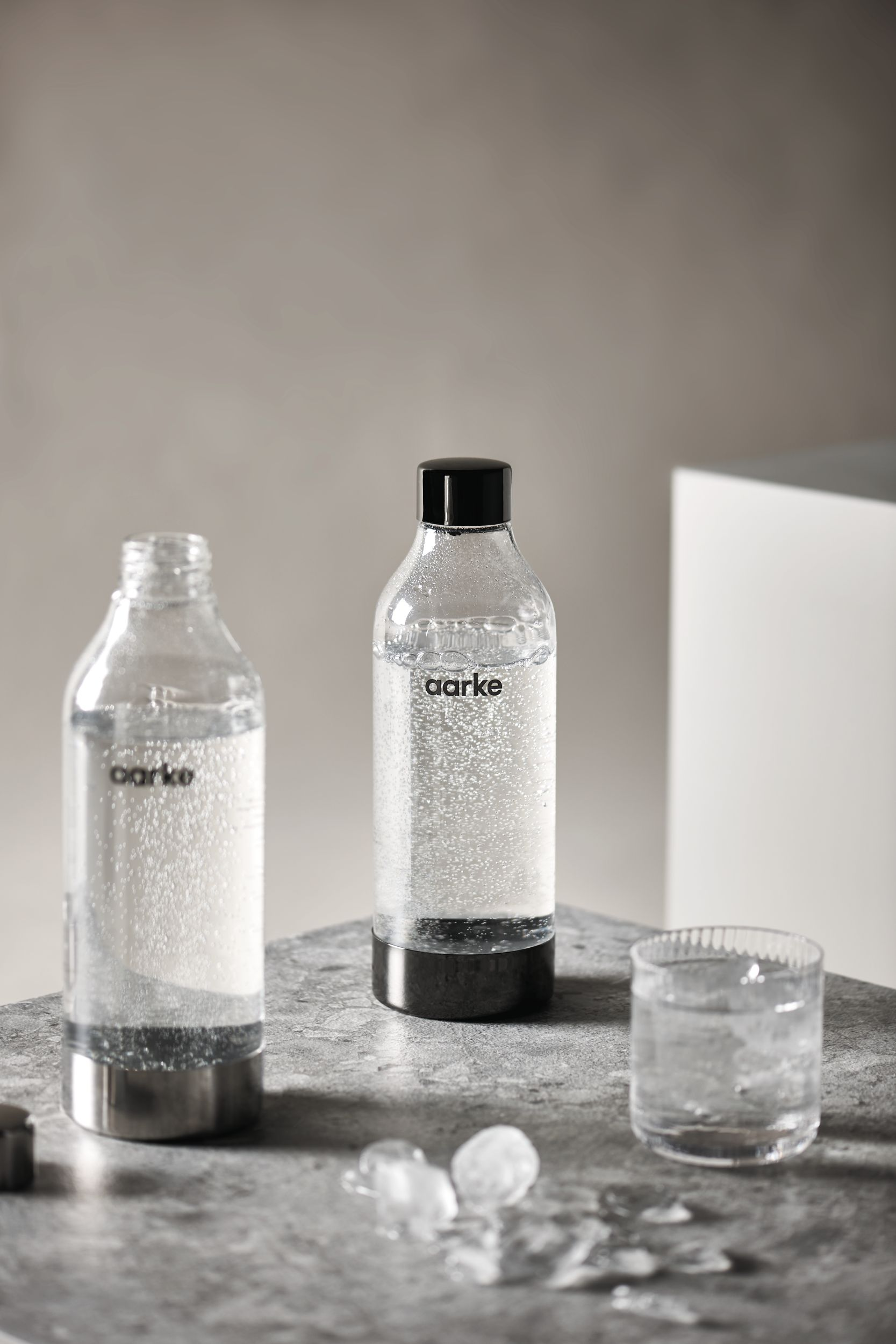 aarke PET vandflaske, 1 liter