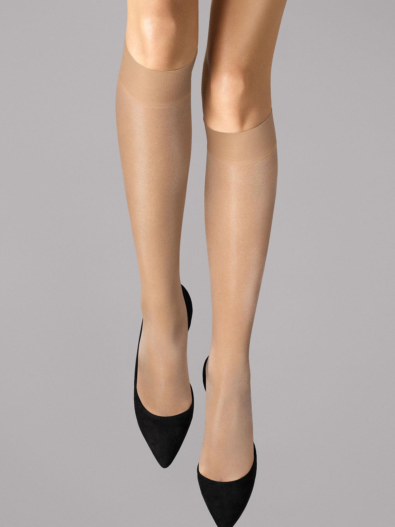 Wolford Satin Touch 20 Knee-Highs, fairly light, medium