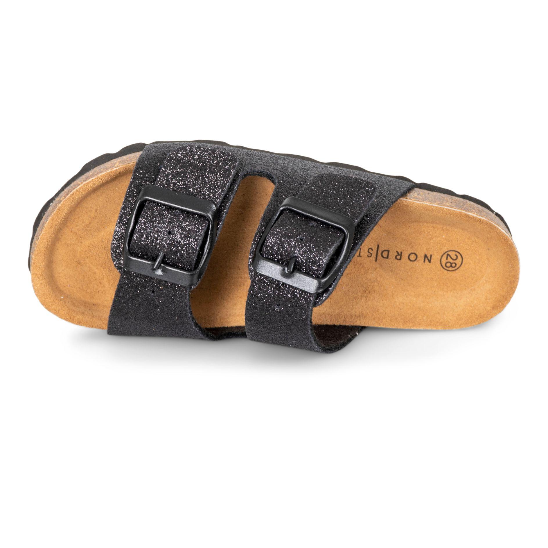 Nordstrand 747 sandal, blackglitter, 27