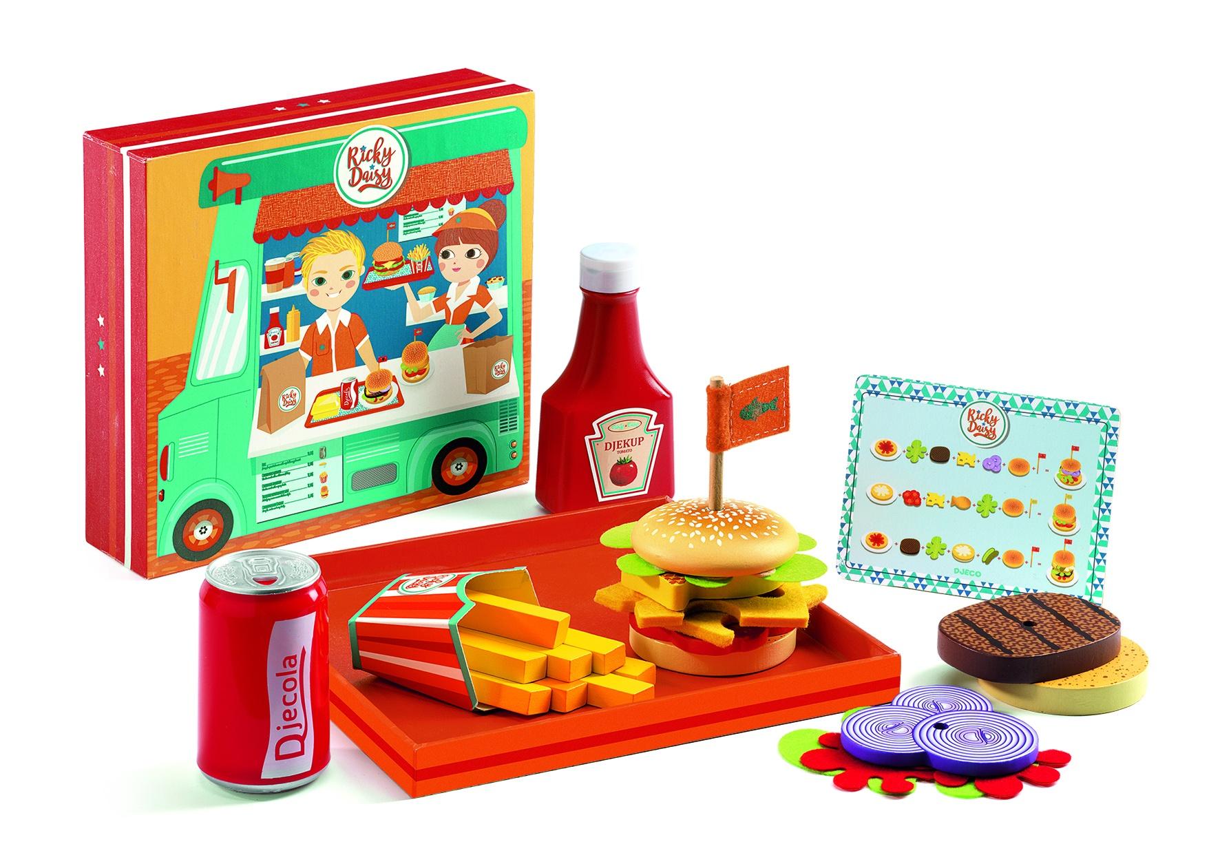 Djeco Ricky & Daisy burgerbar
