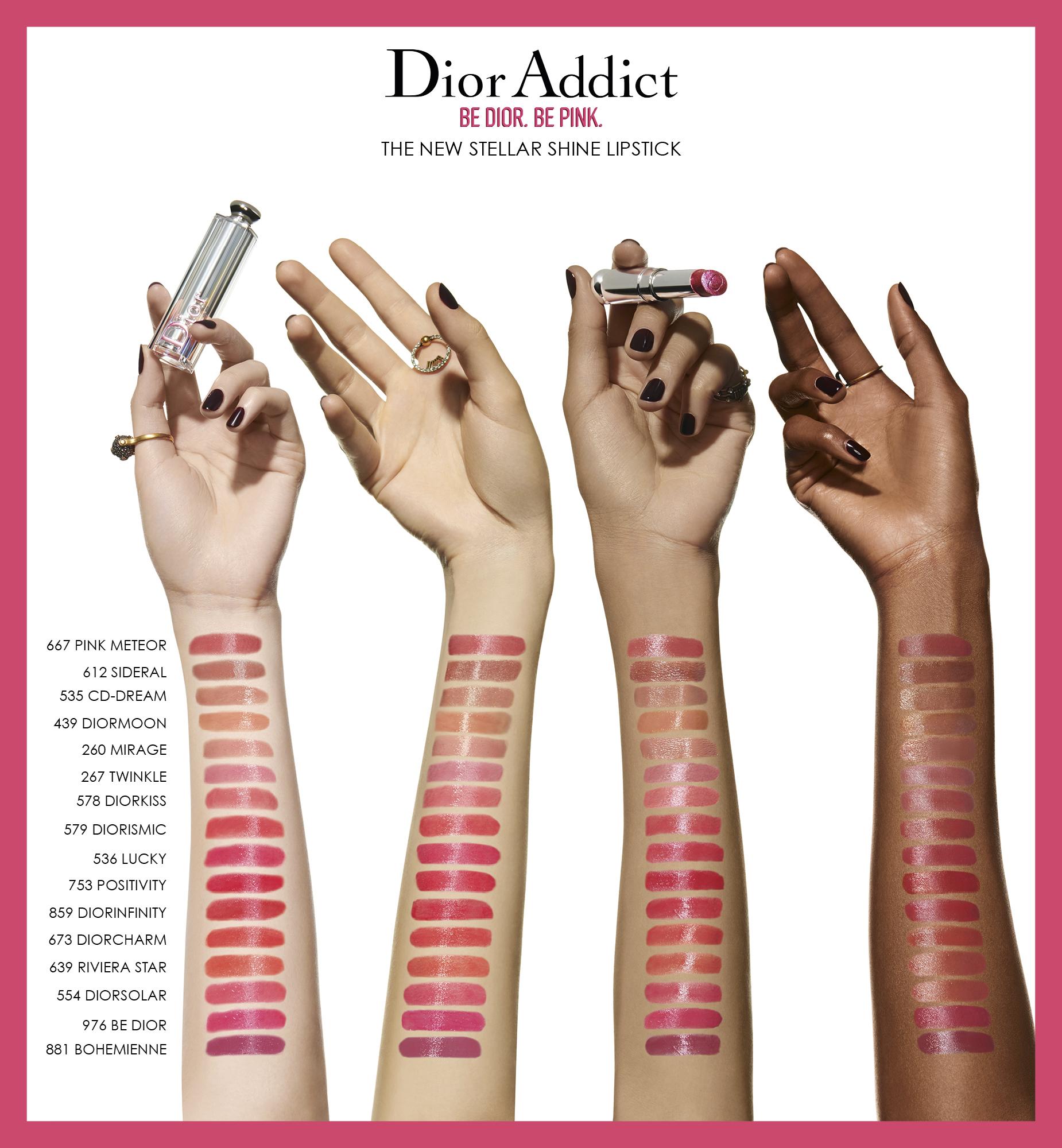 DIOR Addict Stellar Shine, 976 Be Dior