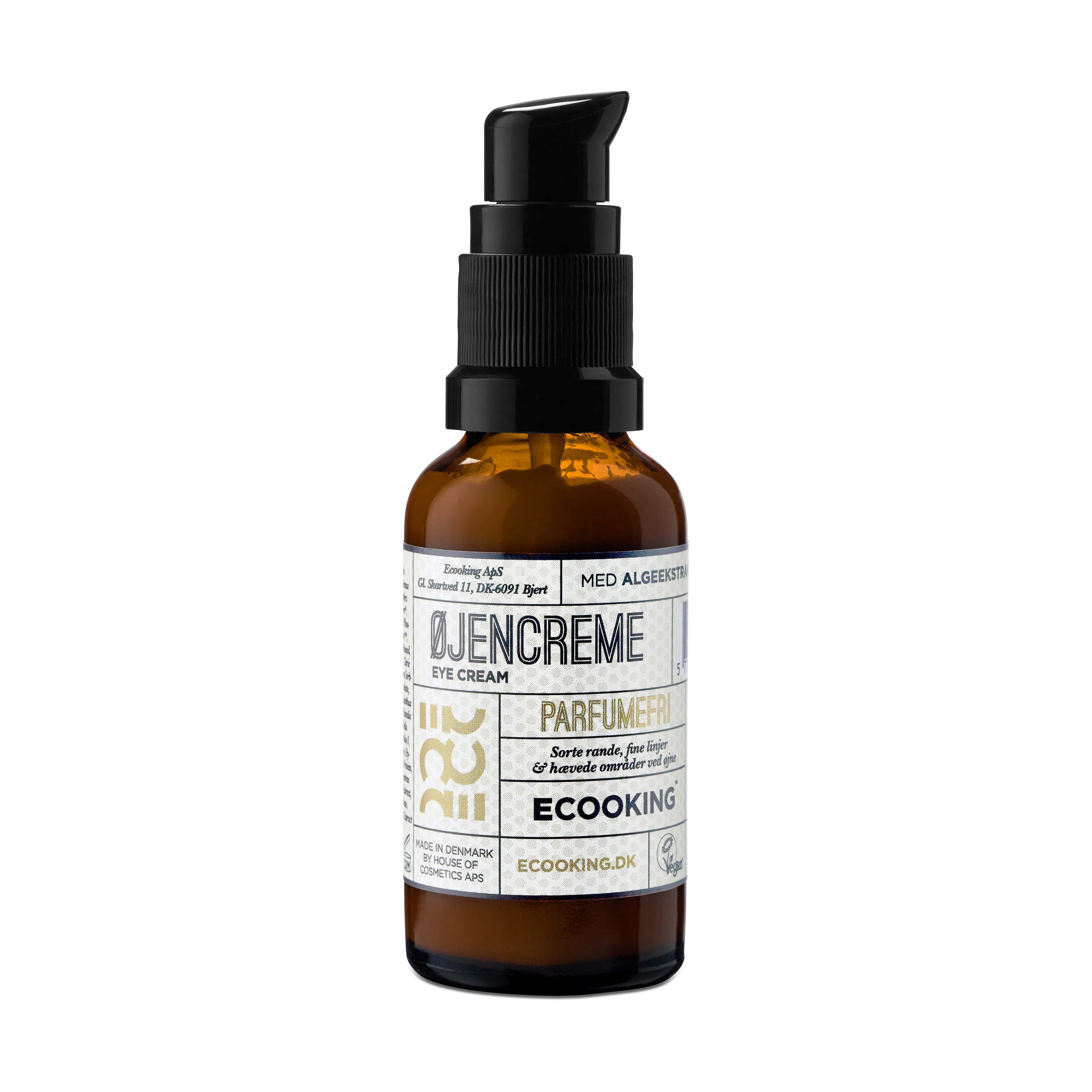 Ecooking Parfumefri Øjencreme, 30 ml