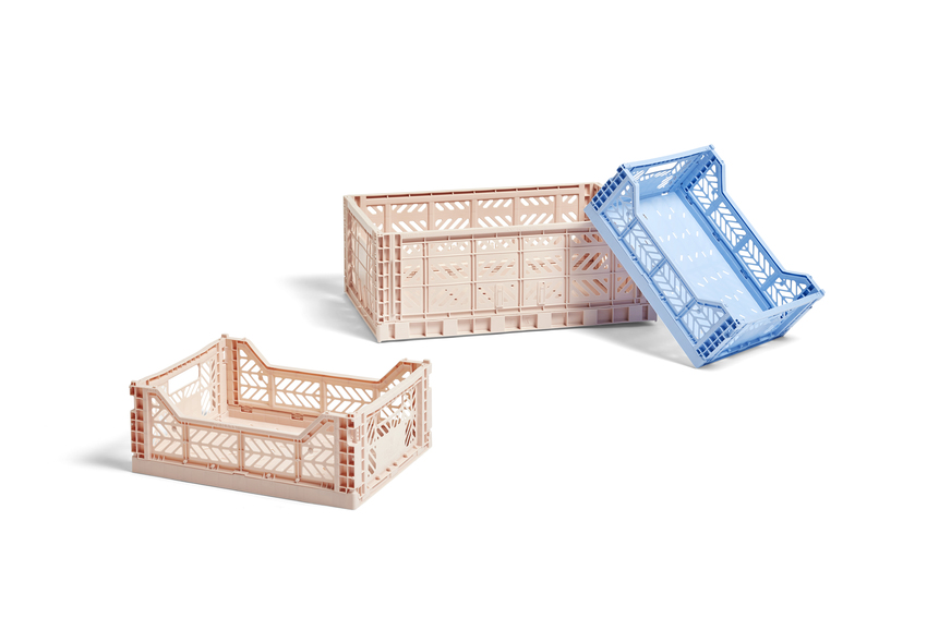 HAY Colour Crate kasse, large, nude