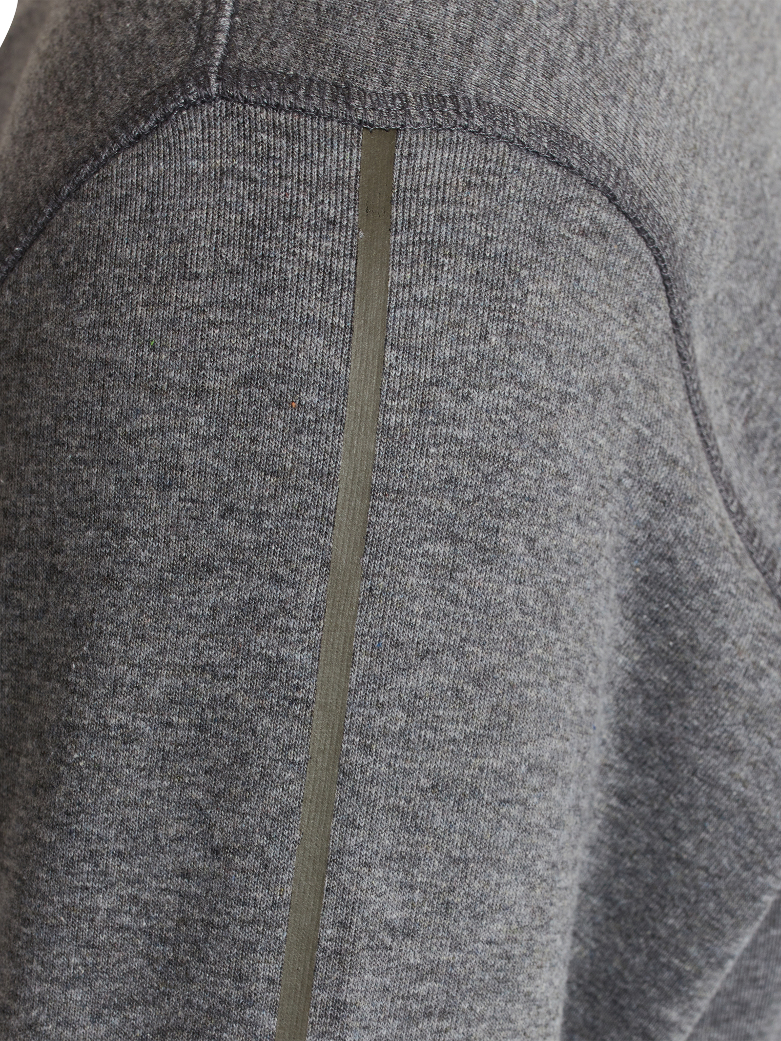 Signal Bolt Crew Sweatshirt, Grey Melange, XXL