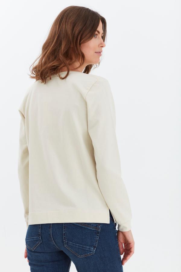 Fransa Passion sweatshirt, Birch, S