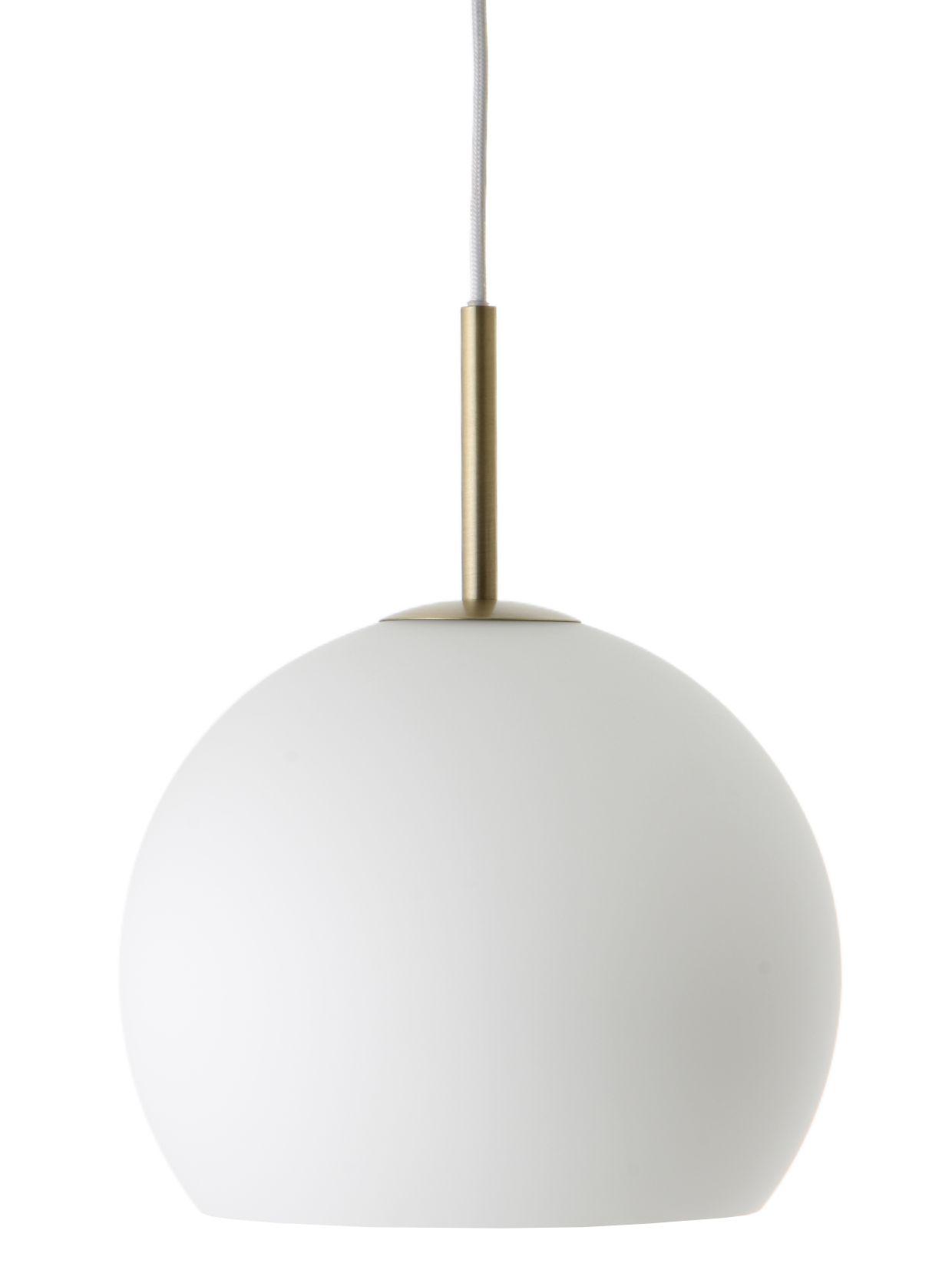Frandsen Ball pendel, Ø25 cm, opal hvid