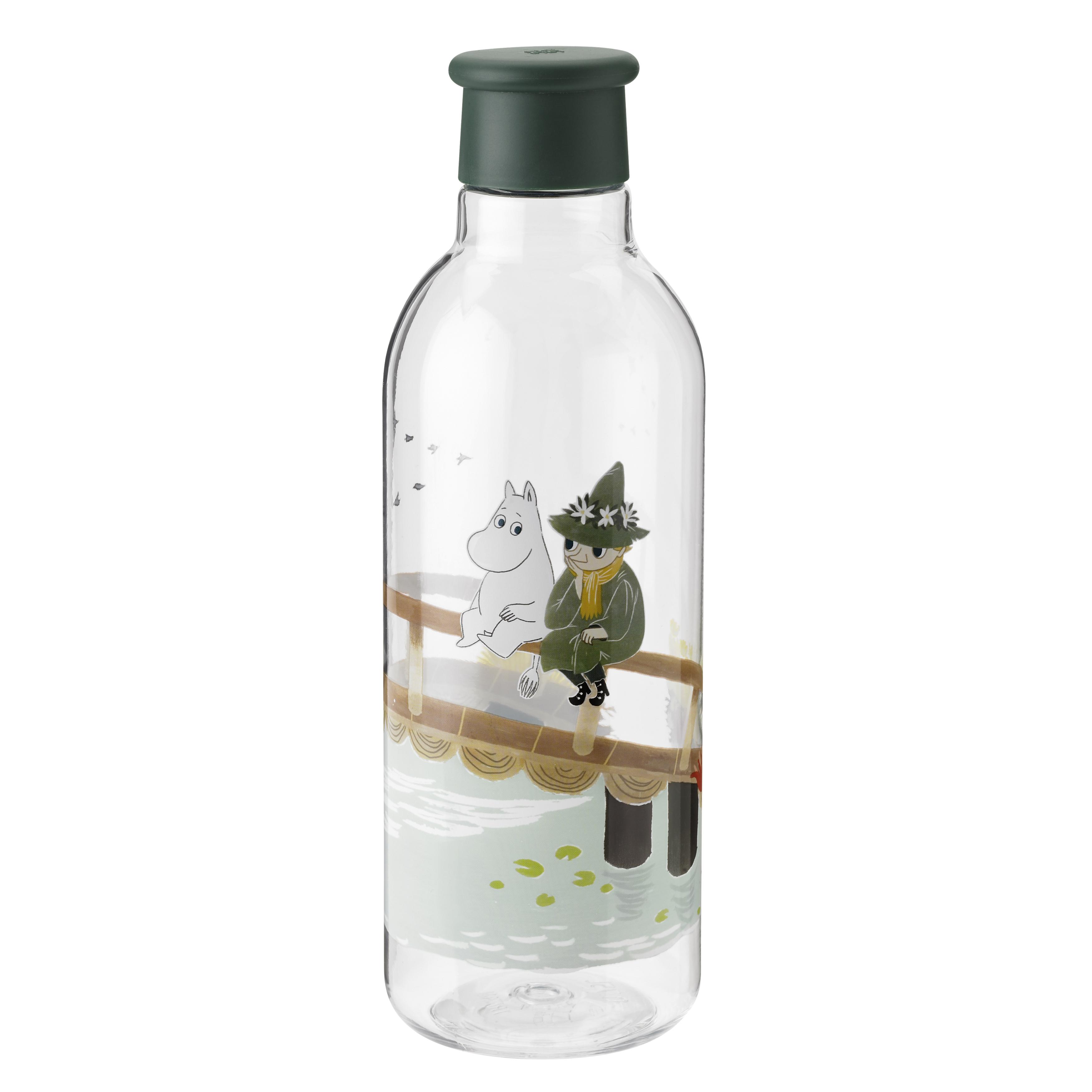 RIG-TIG Mumi Drink-It drikkeflaske, 750 ml, dark green