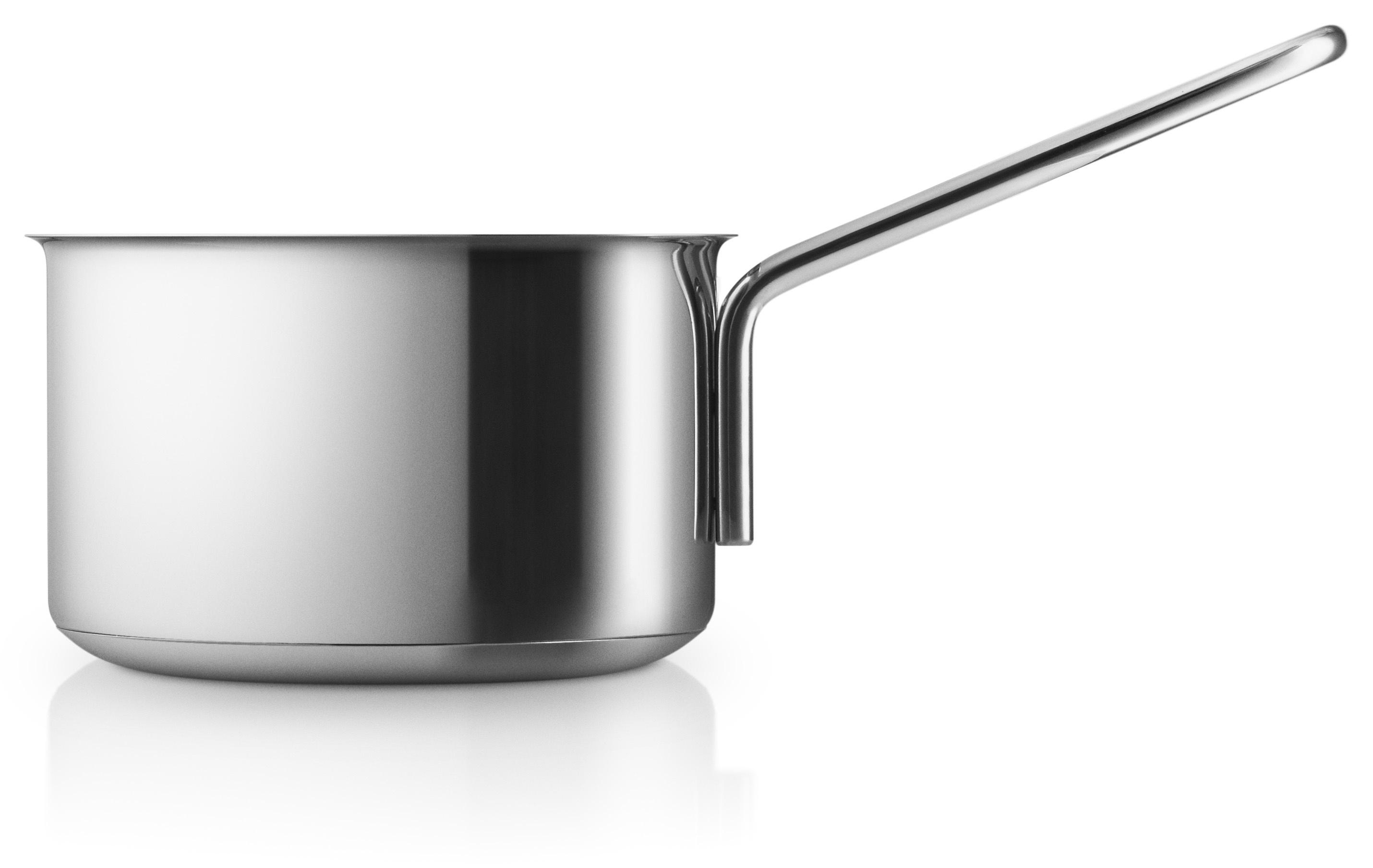 Eva Trio Rustfri stål kasserolle, 1,1 liter