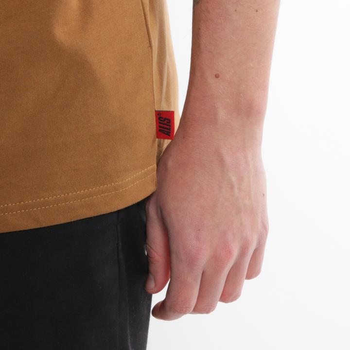 ALIS Tonal Stencil t-shirt, dark hazel, small