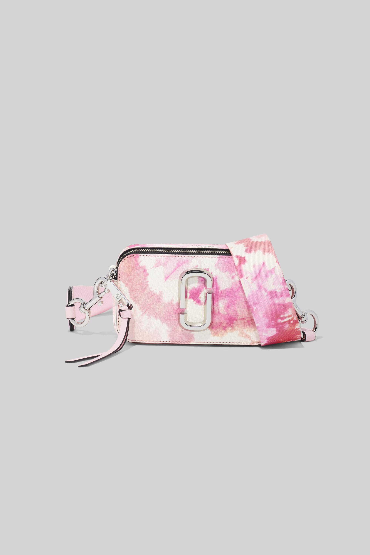 Marc Jacobs The Tie Dye Snapshot skuldertaske, pink
