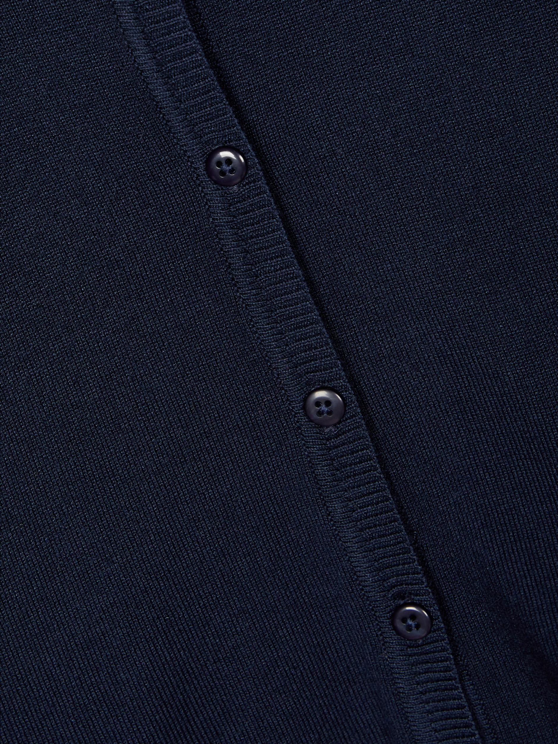 Name It Vioni strik cardigan, dark sapphire, 122-128
