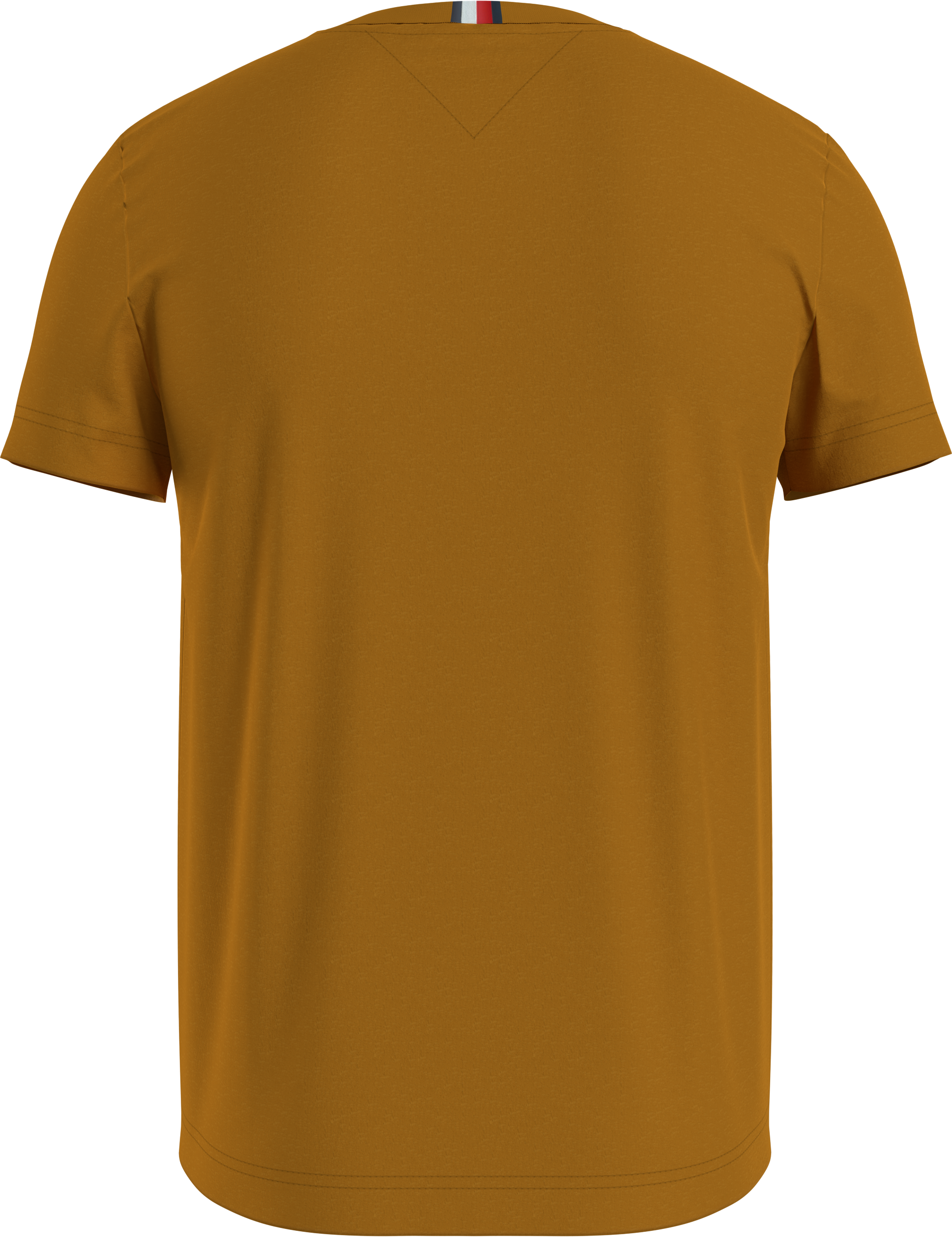 Tommy Hilfiger Peached Jersey T-shirt, Gold, S