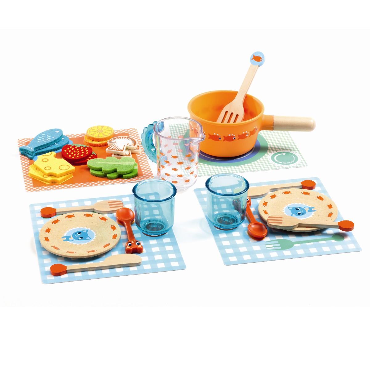 Djeco Til bords legemadssæt
