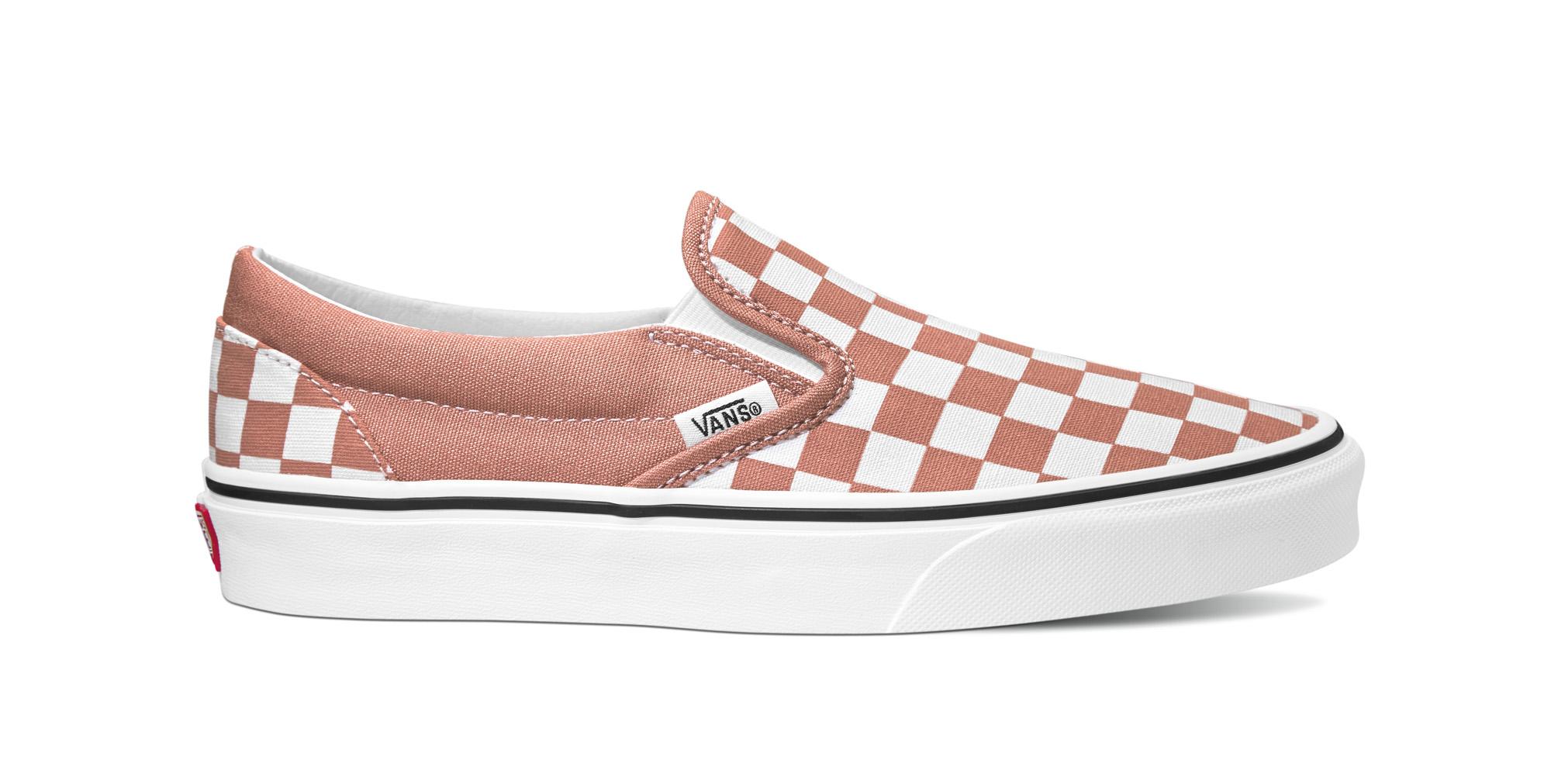Vans Checkered Slip On sneakers, rosedawn, 40