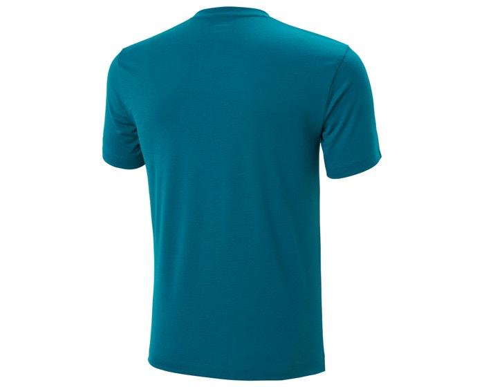 Helly Hansen Skog Graphic t-shirt, deep lagoon, large