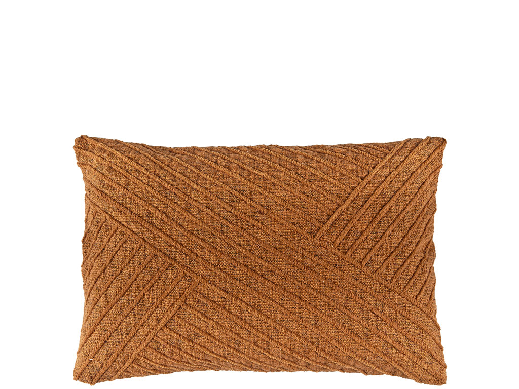 Södahl Diagonal pude, 40x60 cm, clay