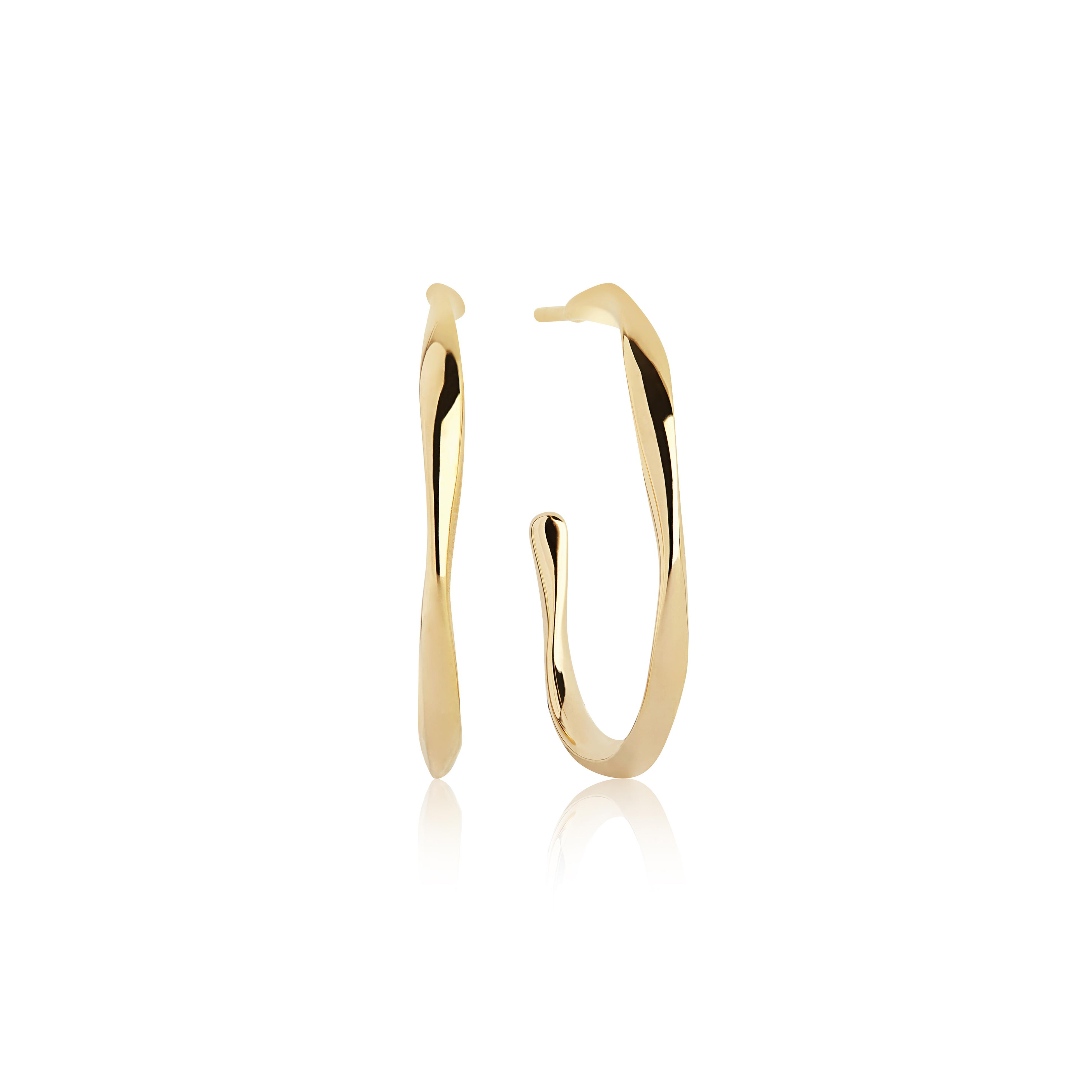 Sif Jakobs Jewellery Cetara Pianura øreringe, guld