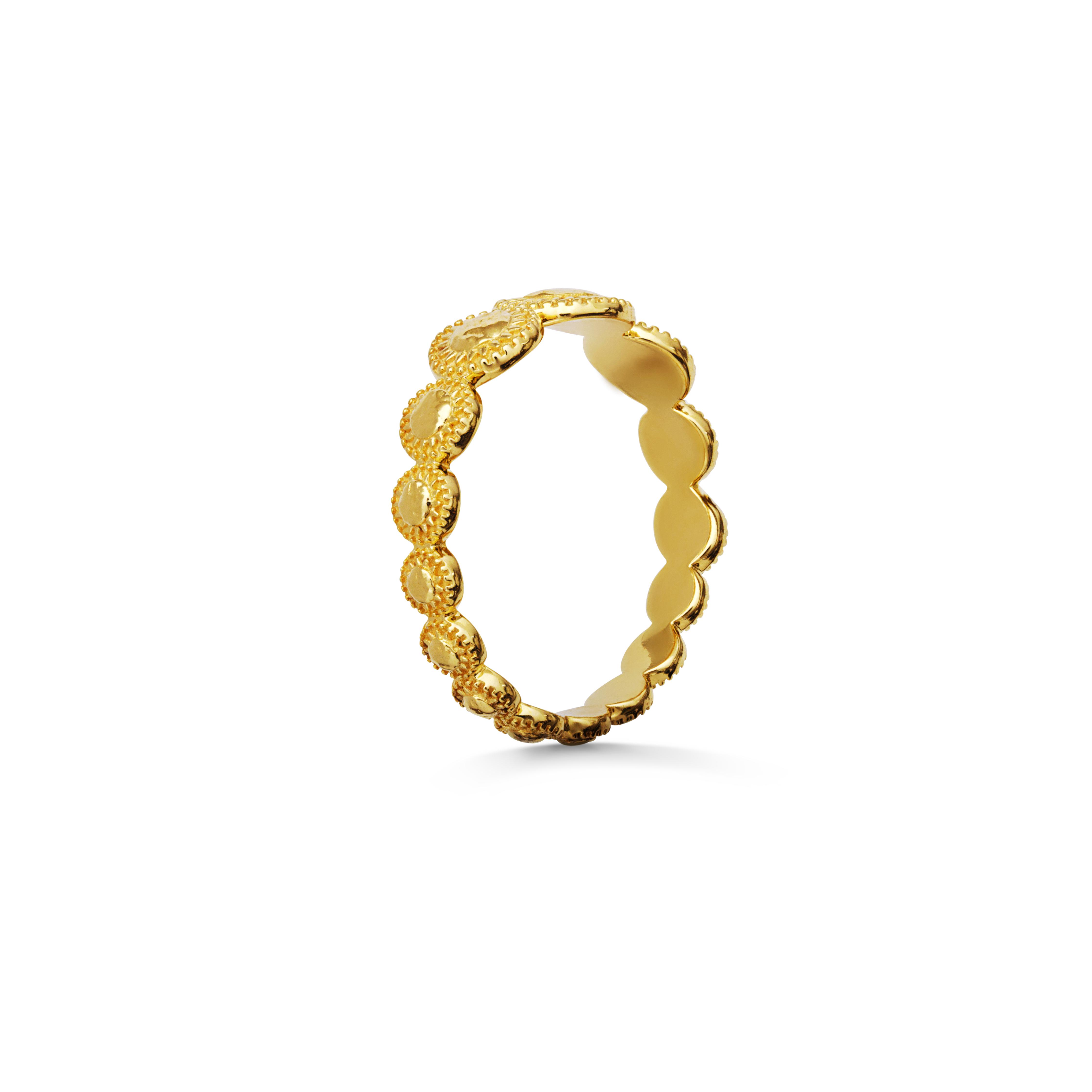 Maanesten Tara ring, guld, 49