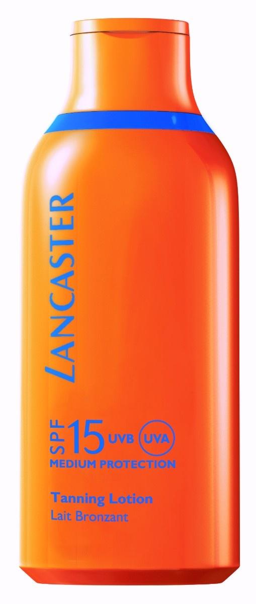 Lancaster Sun Care Face & Body Velvet Tanning Milk SPF15, 400 ml