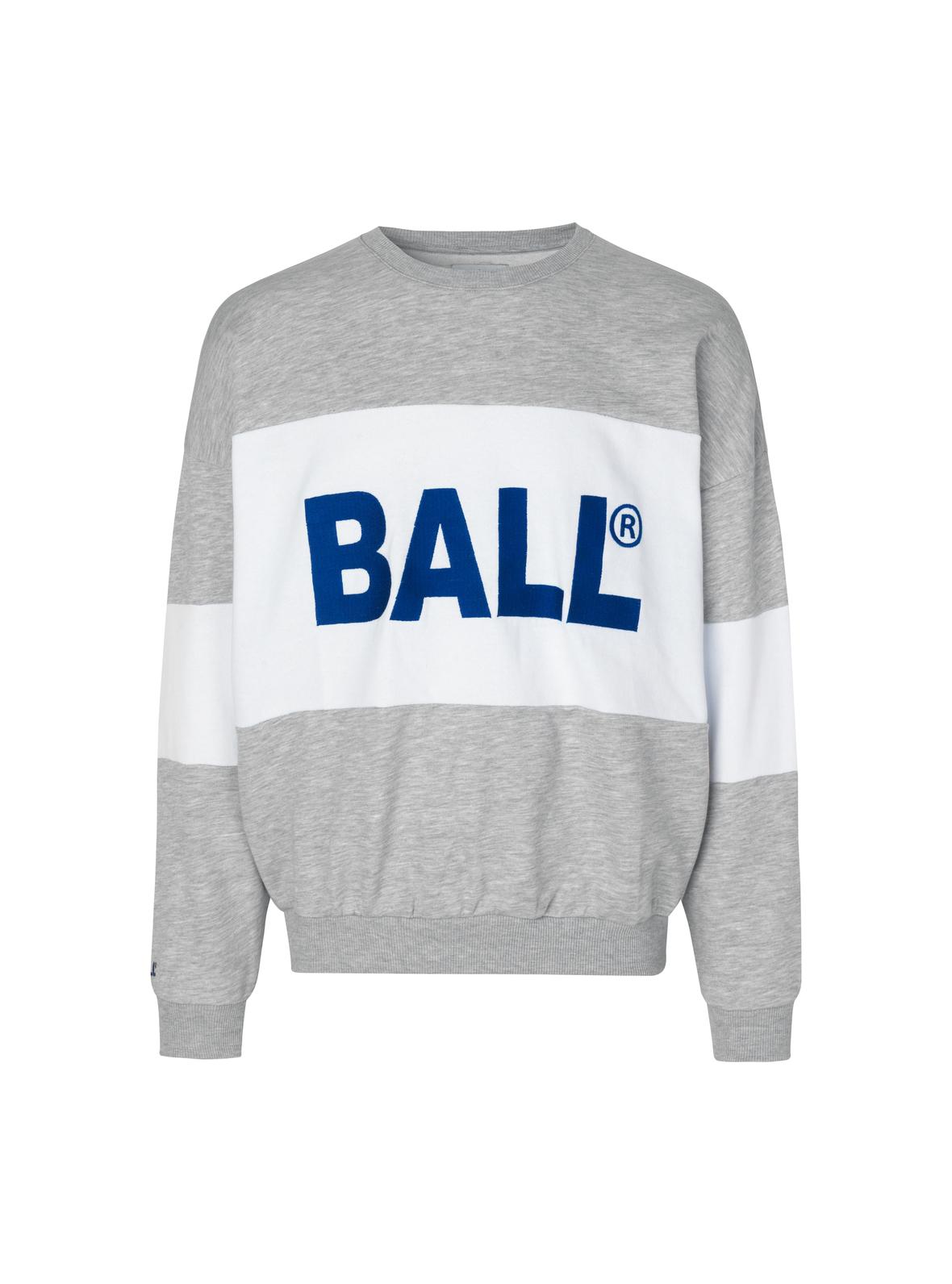 BALL Original Summer Crew Neck sweatshirt, light grey melange, xx-small
