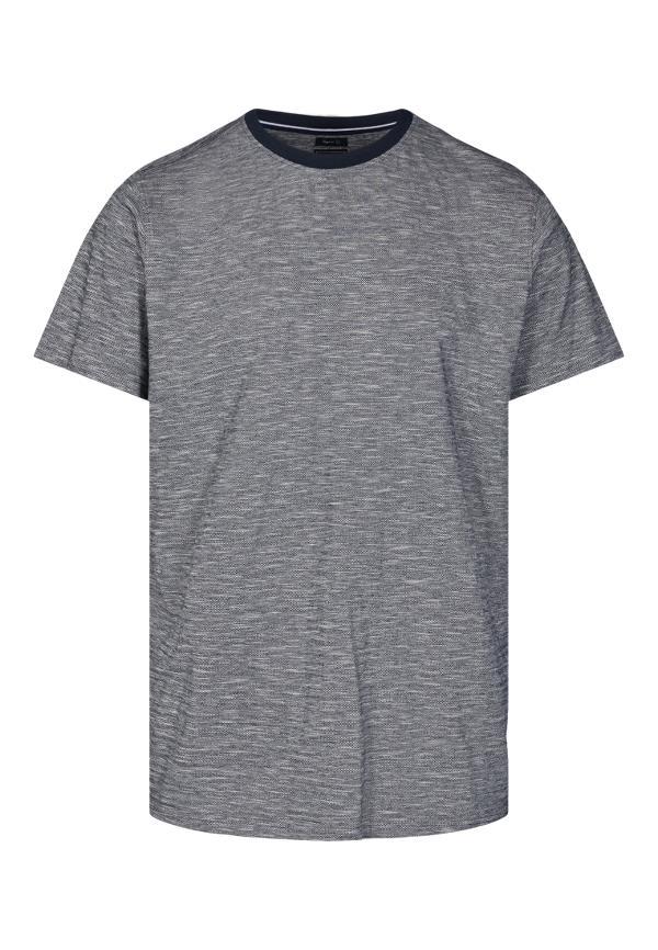 Signal Denver Structure Organic t-shirt, deep marine, xxxx-large