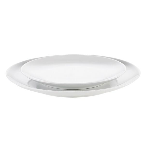 Pillivuyt Cecil middagstallerken, Ø26,5 cm, hvid