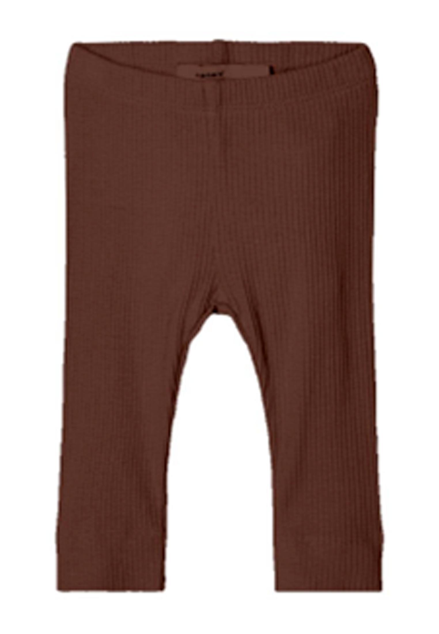 Name It Kabex rib leggings, rocky road, 50