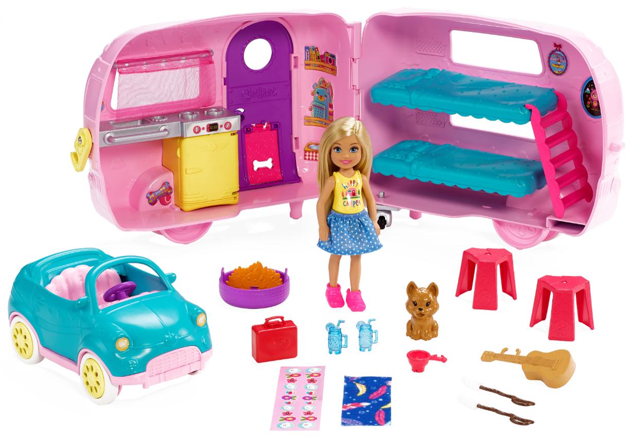 Barbie Chelsea Campingvogn