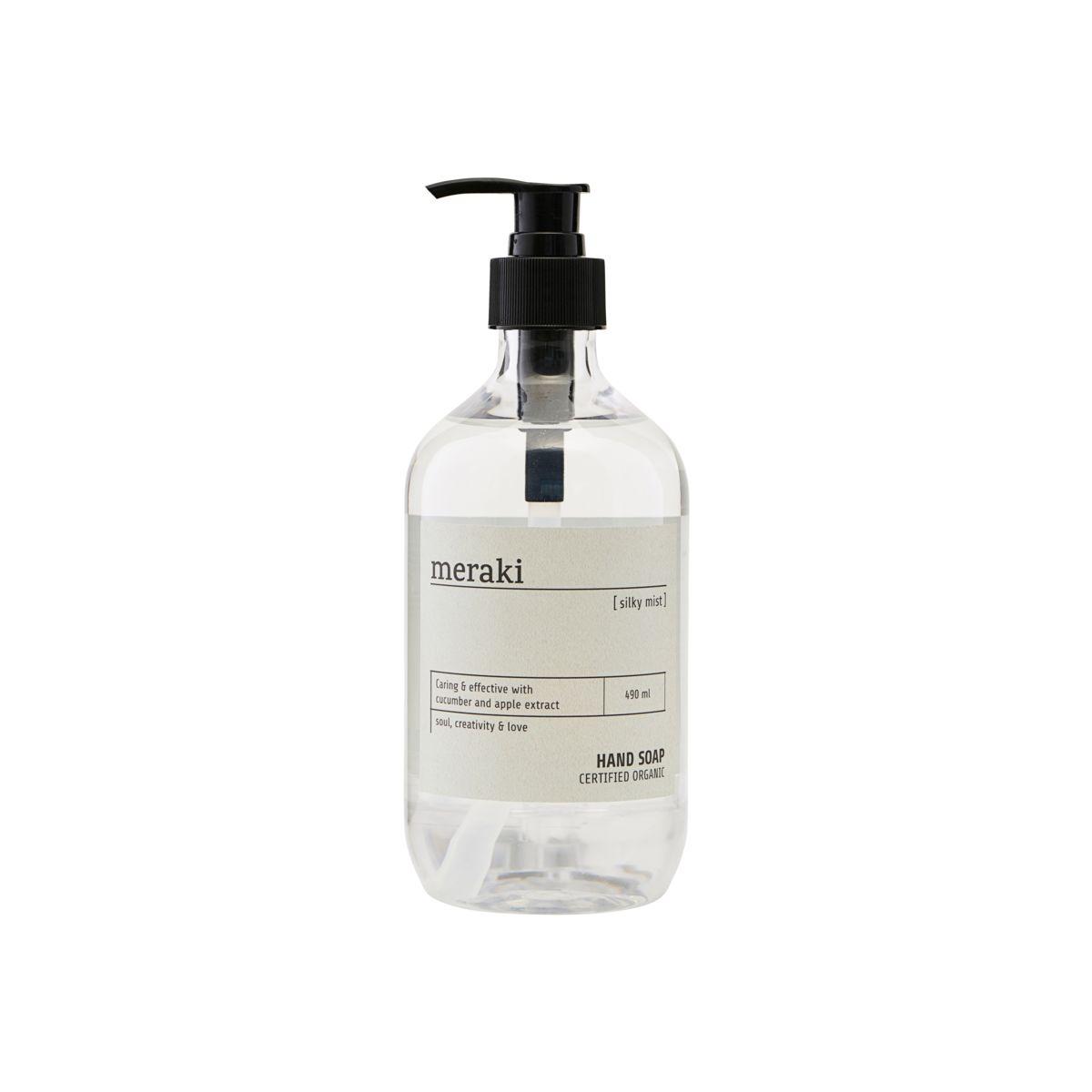 Meraki Silky Mist Hand Soap, 490 ml
