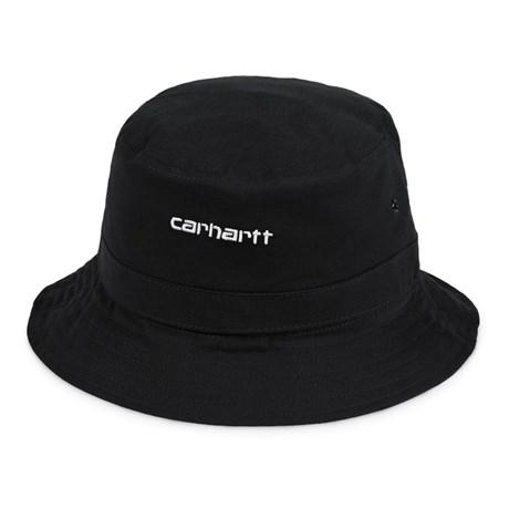 Carhartt Script bøllehat, black/white, small/medium