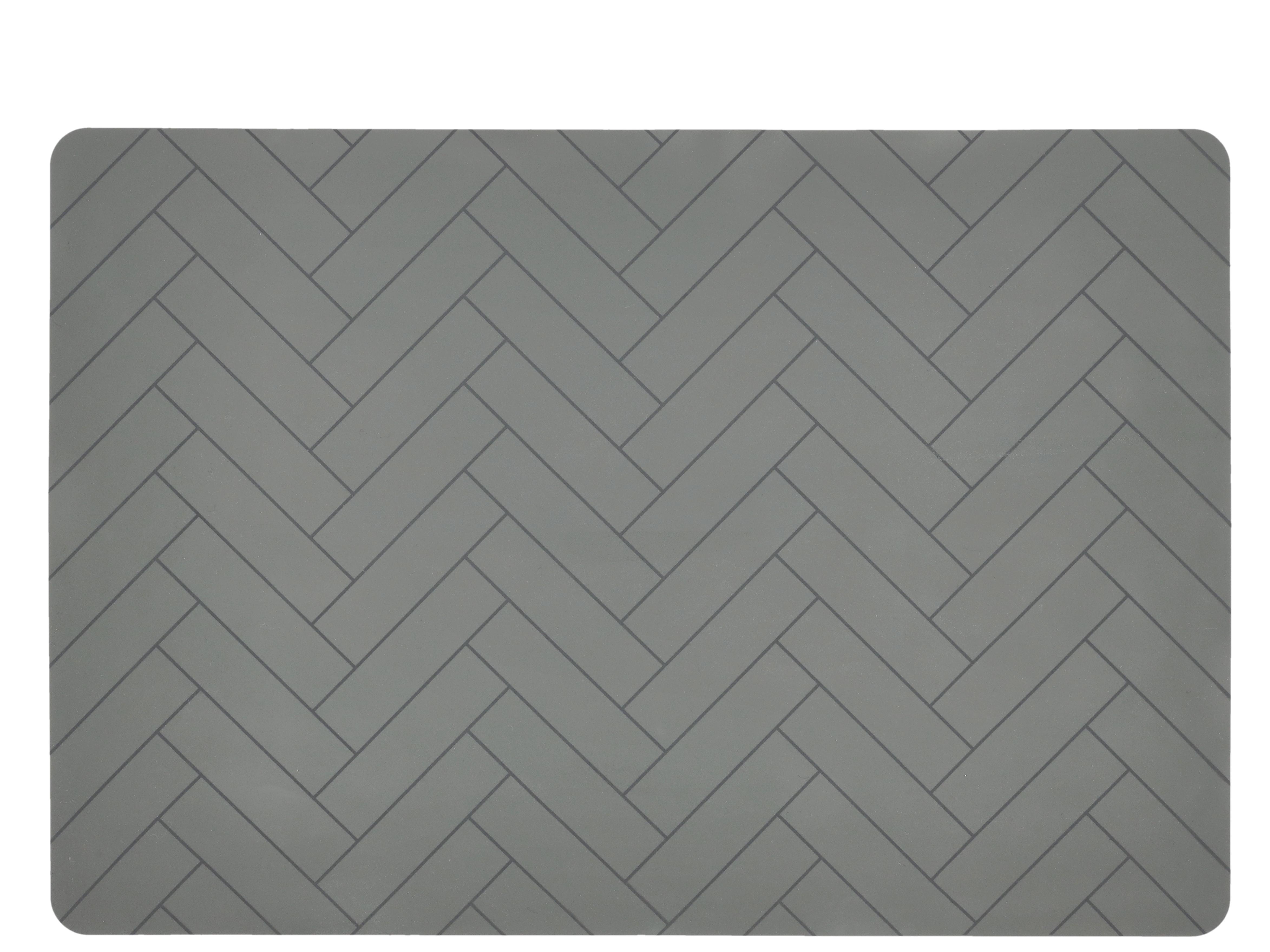 Södahl Tiles dækkeserviet, 33x48 cm, skovgrøn