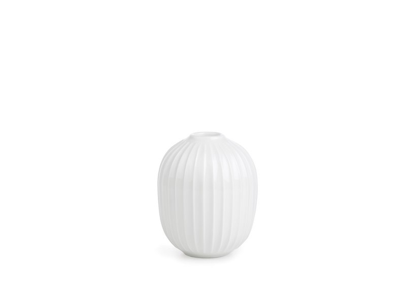 Kähler Hammershøi lysestage, 10 cm, hvid