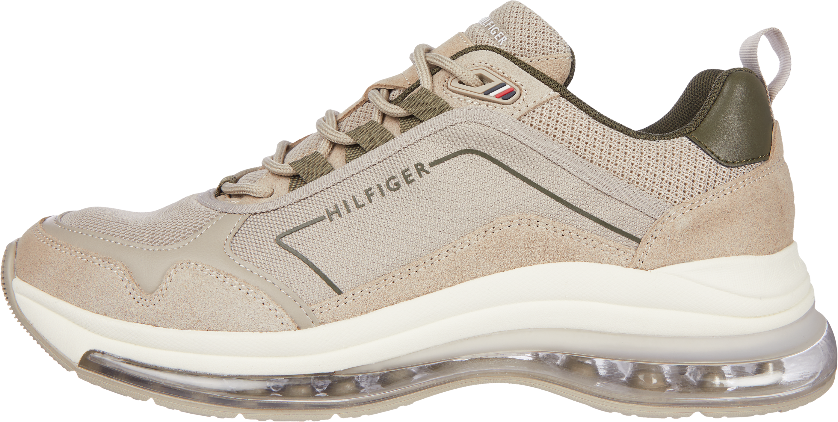 Tommy Hilfiger Air Bubble Suede sneakers, stone, 44