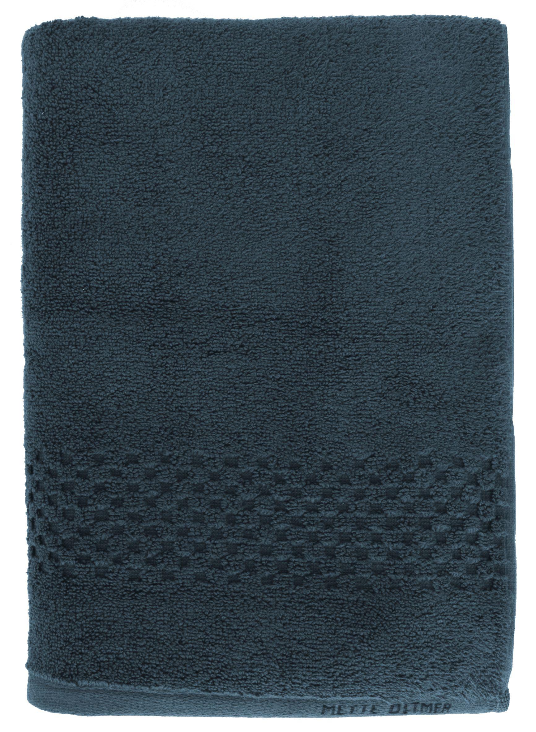 Mette Ditmer Seasons håndklæde, 70x135 cm, blå