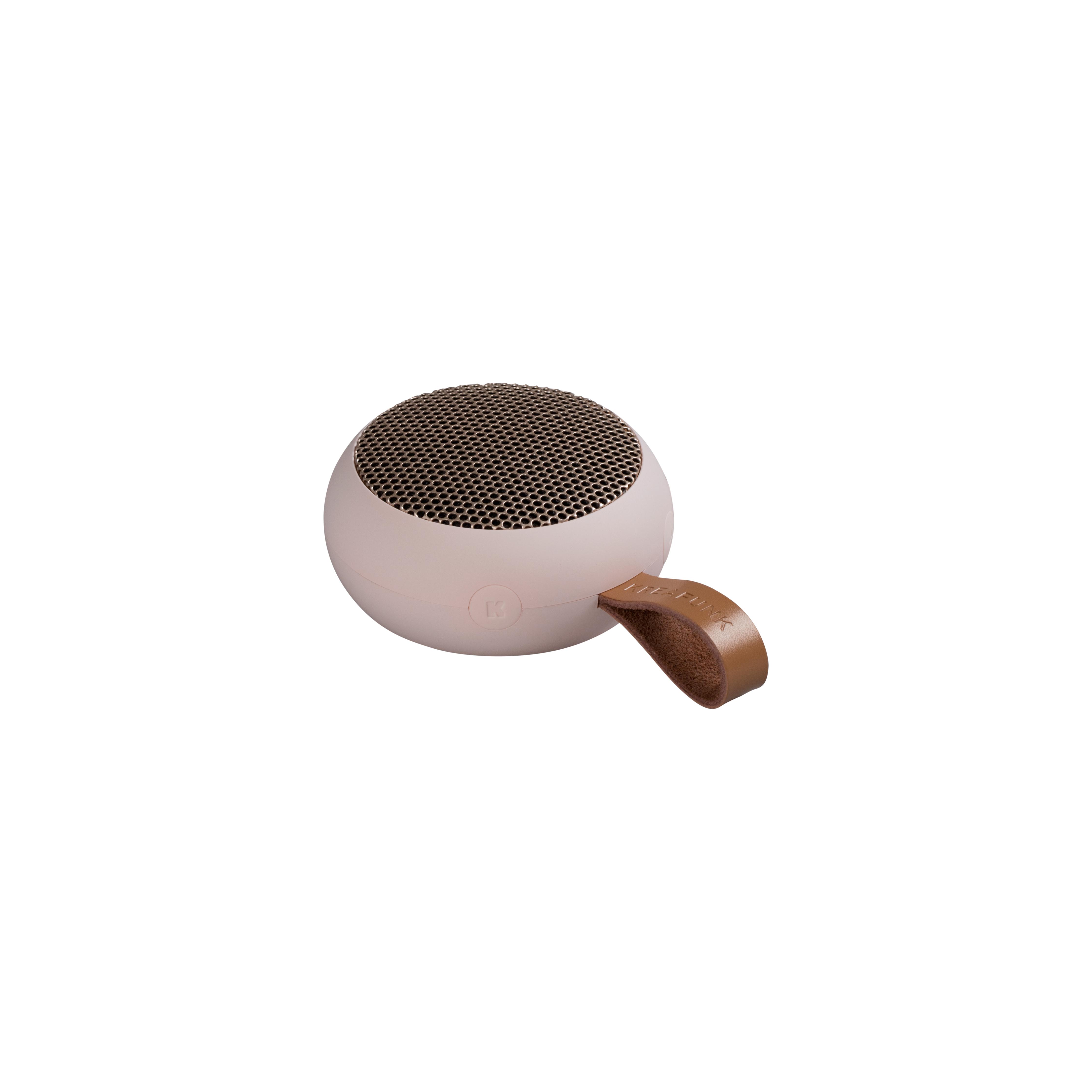 Kreafunk aGO bluetooth højtaler, pink