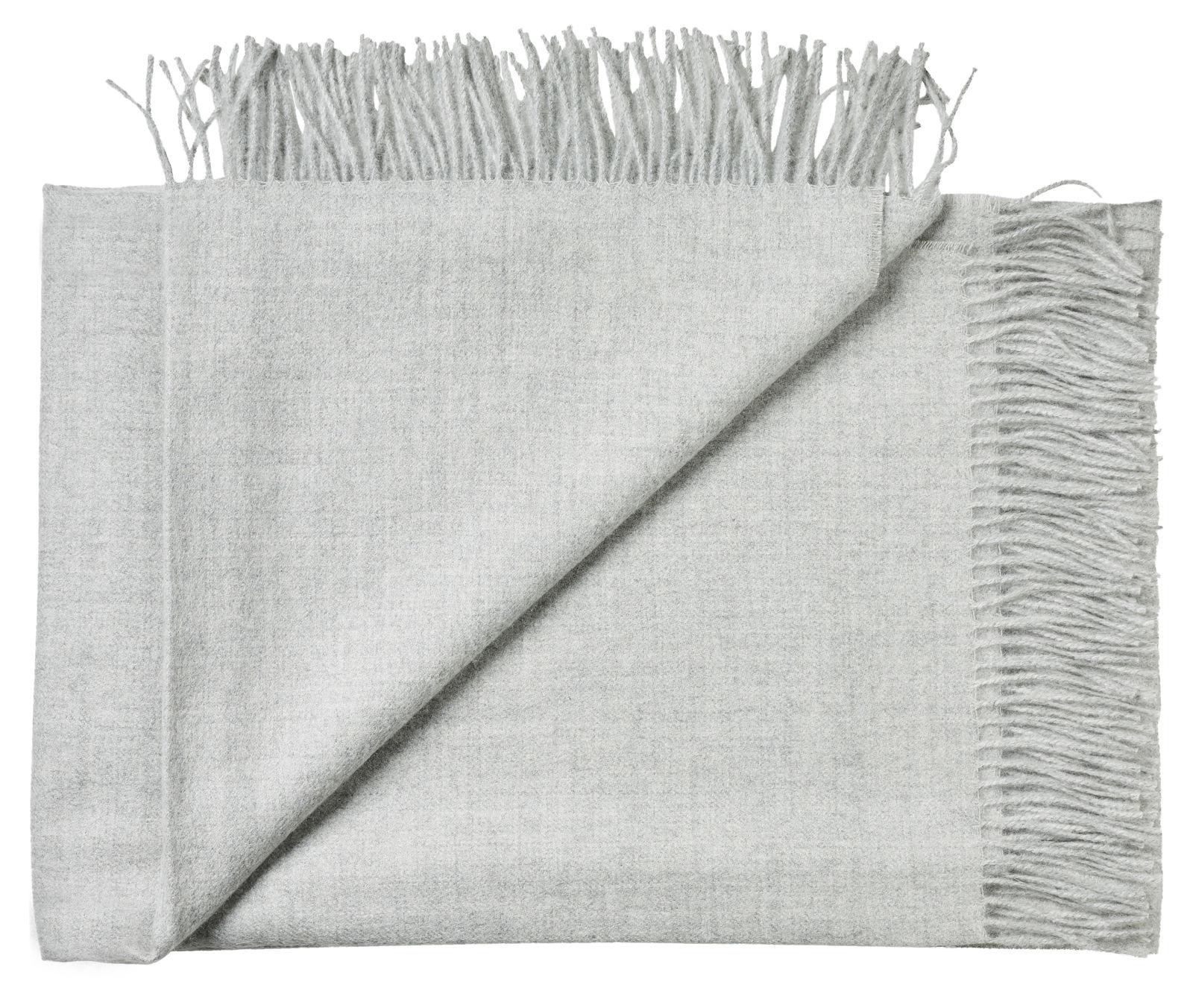 Silkeborg Uldspinderi Arequipa plaid, light grey