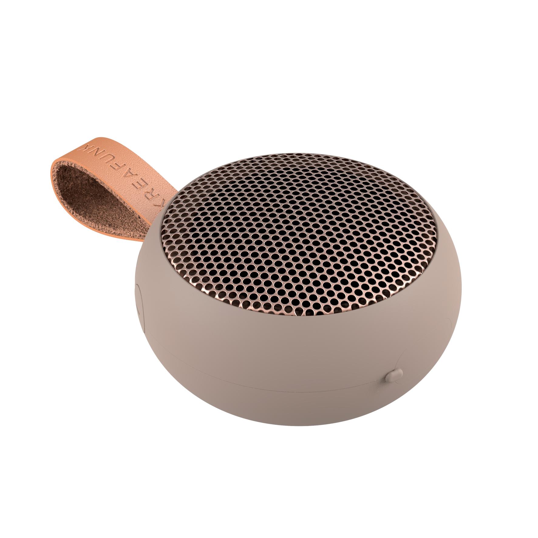 Kreafunk aGO bluetooth højtaler, ivory sand