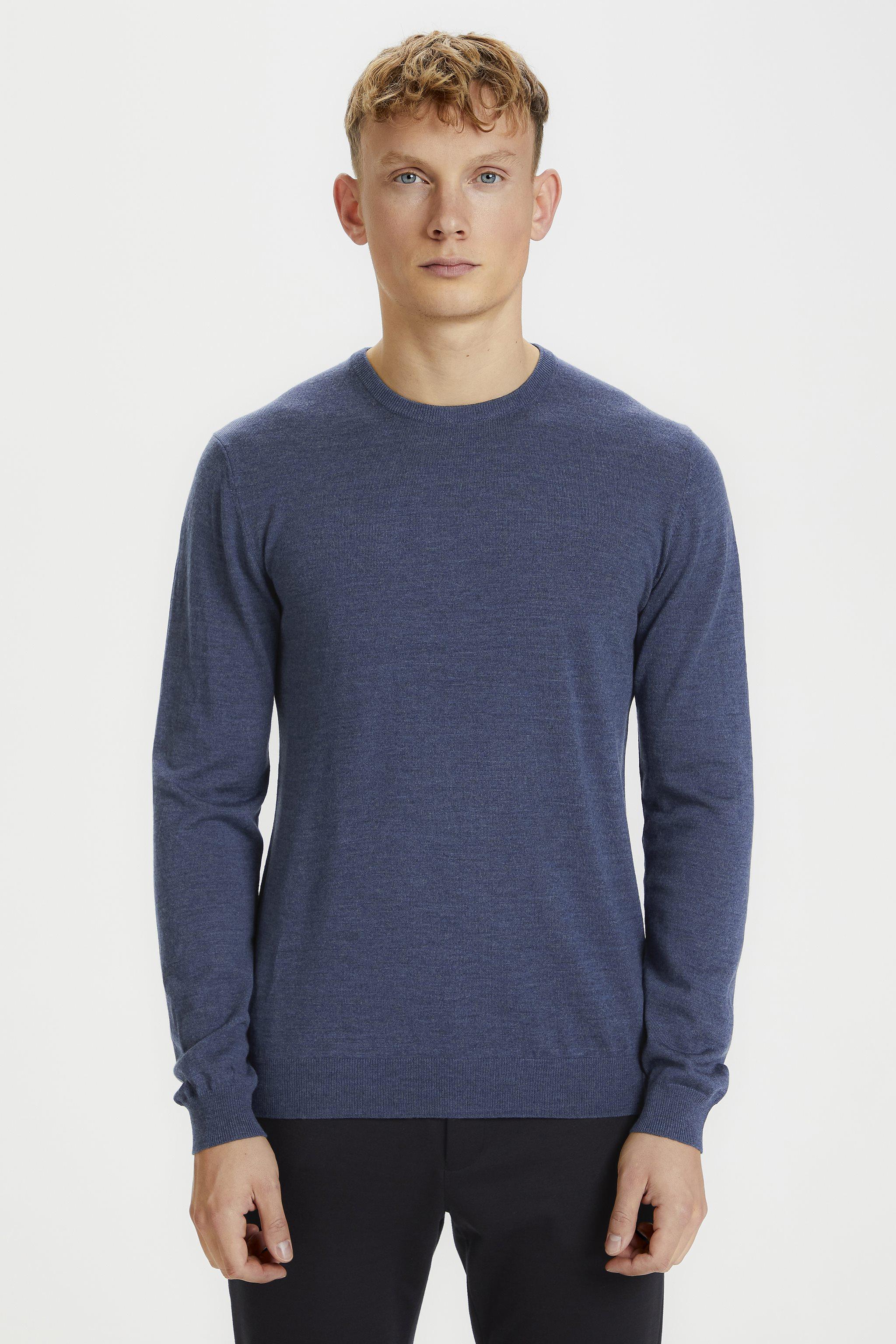 Matinique Margrate pullover, vintage blue, medium